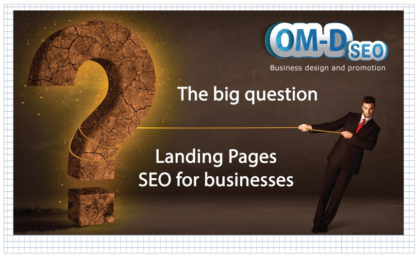 SEO publishing pictures -landing page design - seo images